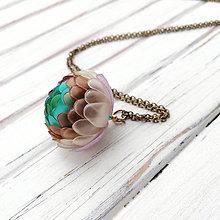 Náhrdelníky - Listopadka Ludvík - náhrdelník z PET - 10449068_