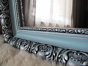 Zrkadlá - Zrkadlo v nebíčkovo modrej - 10452140_
