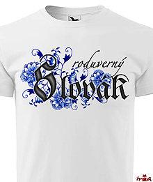 Oblečenie - Roduverný Slovák - 10449893_