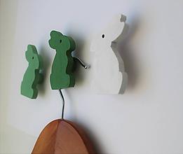 Nábytok - Zajačiky malé - vešiaky - 10451149_