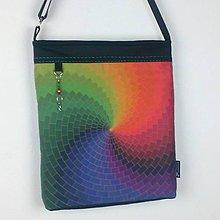 Veľké tašky - Kabelka Spirála - 10451055_