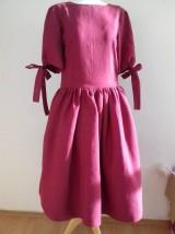 Šaty - Ľanové šaty - 10450633_