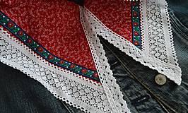 Šatky - Šatky pre nevestu (čepčenie / začepčenie) - 10453352_