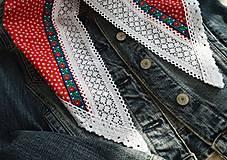 Šatky - Šatky pre nevestu (čepčenie / začepčenie) - 10453359_