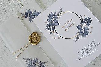 Papiernictvo - Svadobné oznámenie Kvetinové nebo - 10453406_