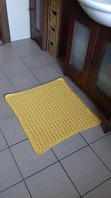 Úžitkový textil - Predložka do kúpeľne - 10452408_