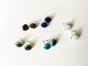 Náušnice - malé napichovačky/keramika/rôzne - 10452448_