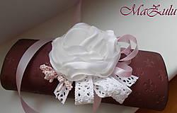 Náramky - Vintage svadobný náramok XI. - 10453313_