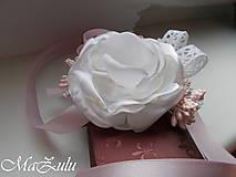 Náramky - Vintage svadobný náramok XI. - 10453315_