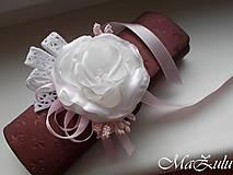 Náramky - Vintage svadobný náramok XI. - 10453316_