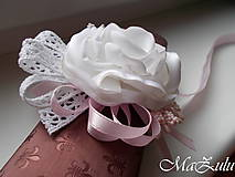 Náramky - Vintage svadobný náramok XI. - 10453317_
