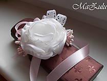 Náramky - Vintage svadobný náramok XI. - 10453318_