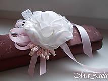 Náramky - Vintage svadobný náramok XI. - 10453319_