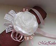 Náramky - Vintage svadobný náramok XI. - 10453321_