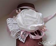 Náramky - Vintage svadobný náramok XI. - 10453322_