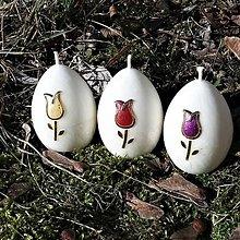 Svietidlá a sviečky - Sviečky Tulipano - 10452988_
