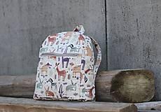 Detské tašky - Detský ruksak africké zvieratká - 10455002_