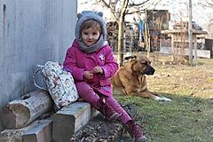 Detské tašky - Detský ruksak africké zvieratká - 10455003_