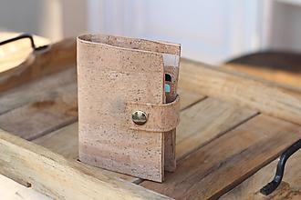 Peňaženky - Korková peňaženka na mieru - 10454816_