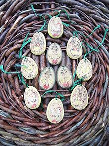 Dekorácie - Veľkonočné vajíčka pestré - 10456201_