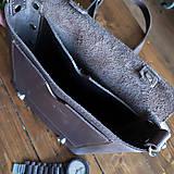 Tašky - Hunter - kožená brašňa - 10452357_