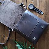 Tašky - Hunter - kožená brašňa - 10452358_