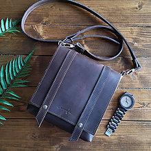 Tašky - Hunter - kožená brašňa - 10452356_