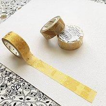 Papier - luxusná ozdobná papierová páska Tisíc a jedna noc I (zlatá I) - 10453771_