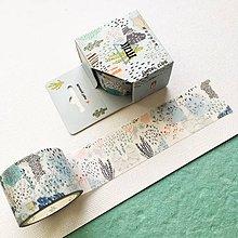 Papier - ozdobná papierová páska Japonská záhrada - 10453854_