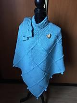 Iné oblečenie - Mint pončo - 10454087_