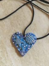 Náhrdelníky - Náhrdelník srdce - 10452738_