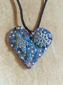 Náhrdelníky - Náhrdelník srdce - 10452737_