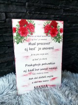 Tabuľky - Tabulka,, mama,, - 10456444_