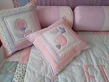 Úžitkový textil - Vankúše dievčenské - 10452348_