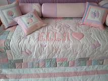Úžitkový textil - Vankúše dievčenské - 10452350_