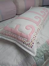 Úžitkový textil - Vankúše dievčenské - 10452354_