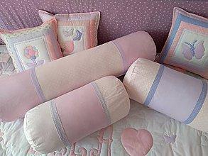 Úžitkový textil - Vankúše dievčenské - 10452353_