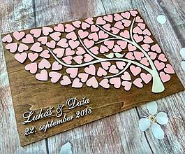 Dekorácie - Svadobný strom - Birds Kiss - 10454220_