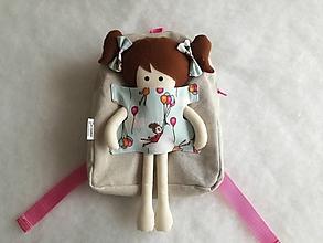 Batohy - Dievčatko s balónmi - 10452739_
