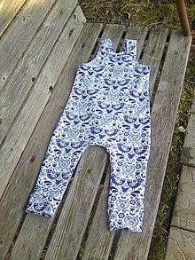 Detské oblečenie - tešíme sa na jar v modrom II. - 10452736_