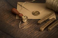 Papiernictvo - Pečatný vosk - Zlatá ❤ - 10454307_