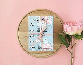 Darčeky pre svadobčanov - Čo máš v telefóne - mint roses - 10453564_