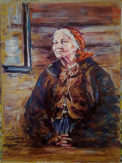 """Obrazy - """"Babička."""" - 10454416_"""