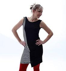 Šaty - Pruhaté Majdalenky... - 10453753_