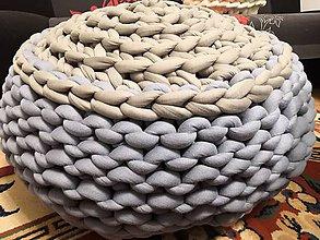 Úžitkový textil - Big Marshmallow Puf - 10452415_