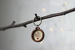 Kľúčenky - Kľúčenka MôJ - 10454774_