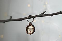 Kľúčenky - Kľúčenka MOJA - 10454790_