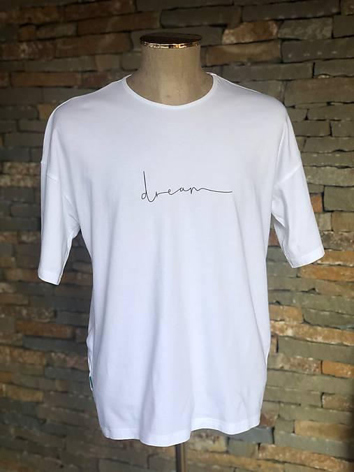 Pánske boxy tričko z organickej bavlny DREAM krátky rukáv