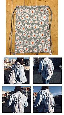 Iné tašky - Vak sedmokráska - 10455351_