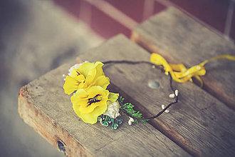 Detské doplnky - Kvetinový venček